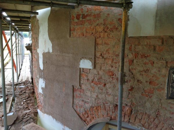 Roman Cement Render retained